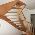 Treppe aus Buche