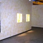 Trennwand aus Gipskarton mit Verglasungen