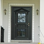 Haustür im klassischen Stil